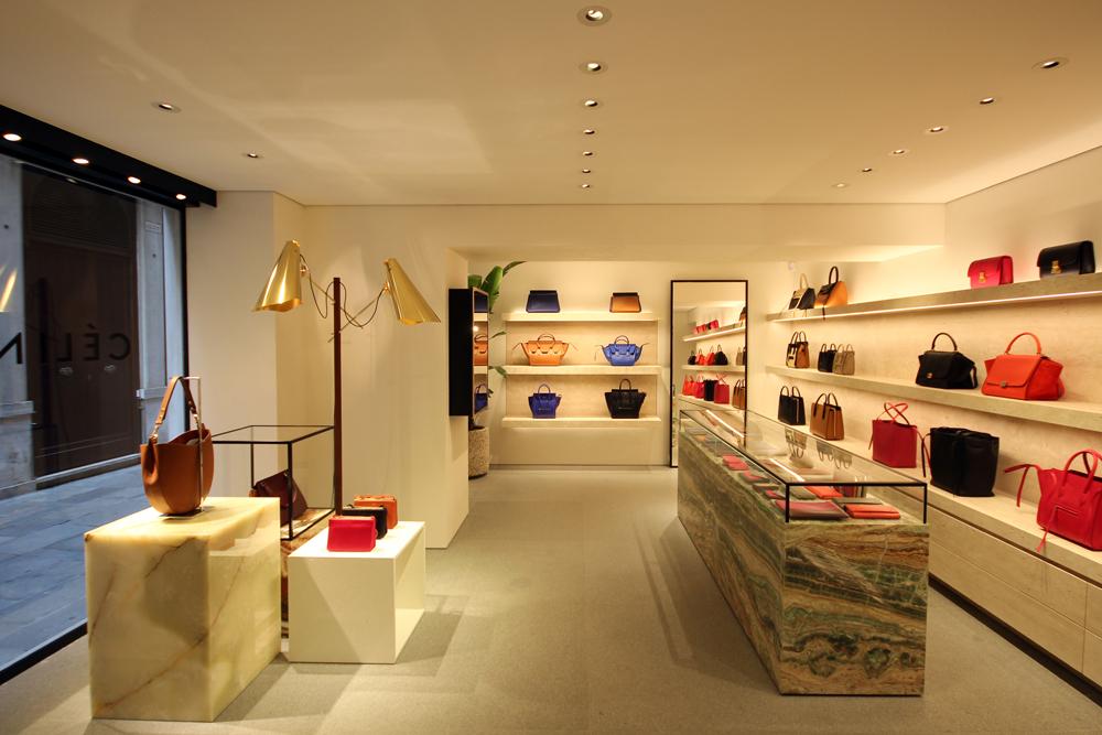 new celine store in venice