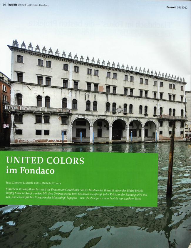 United Colors im Fondaco