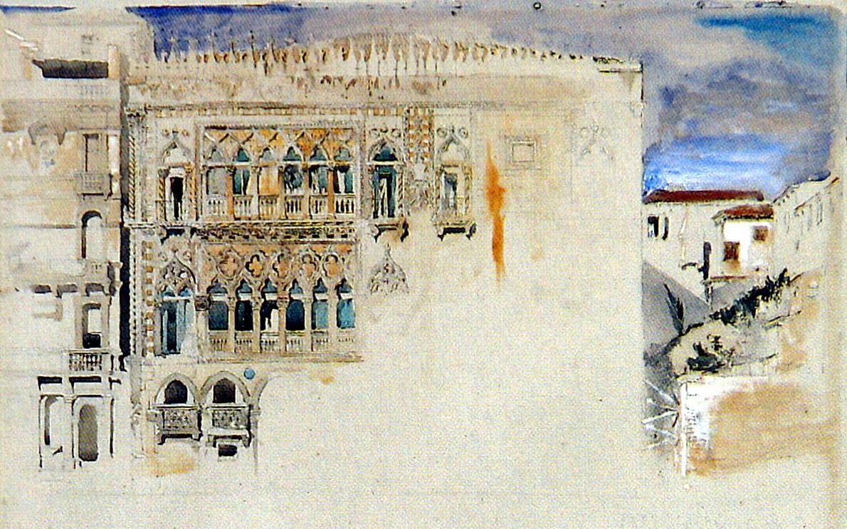 """Calcina – John Ruskin Preis, """"Schreiben über Architektur"""""""