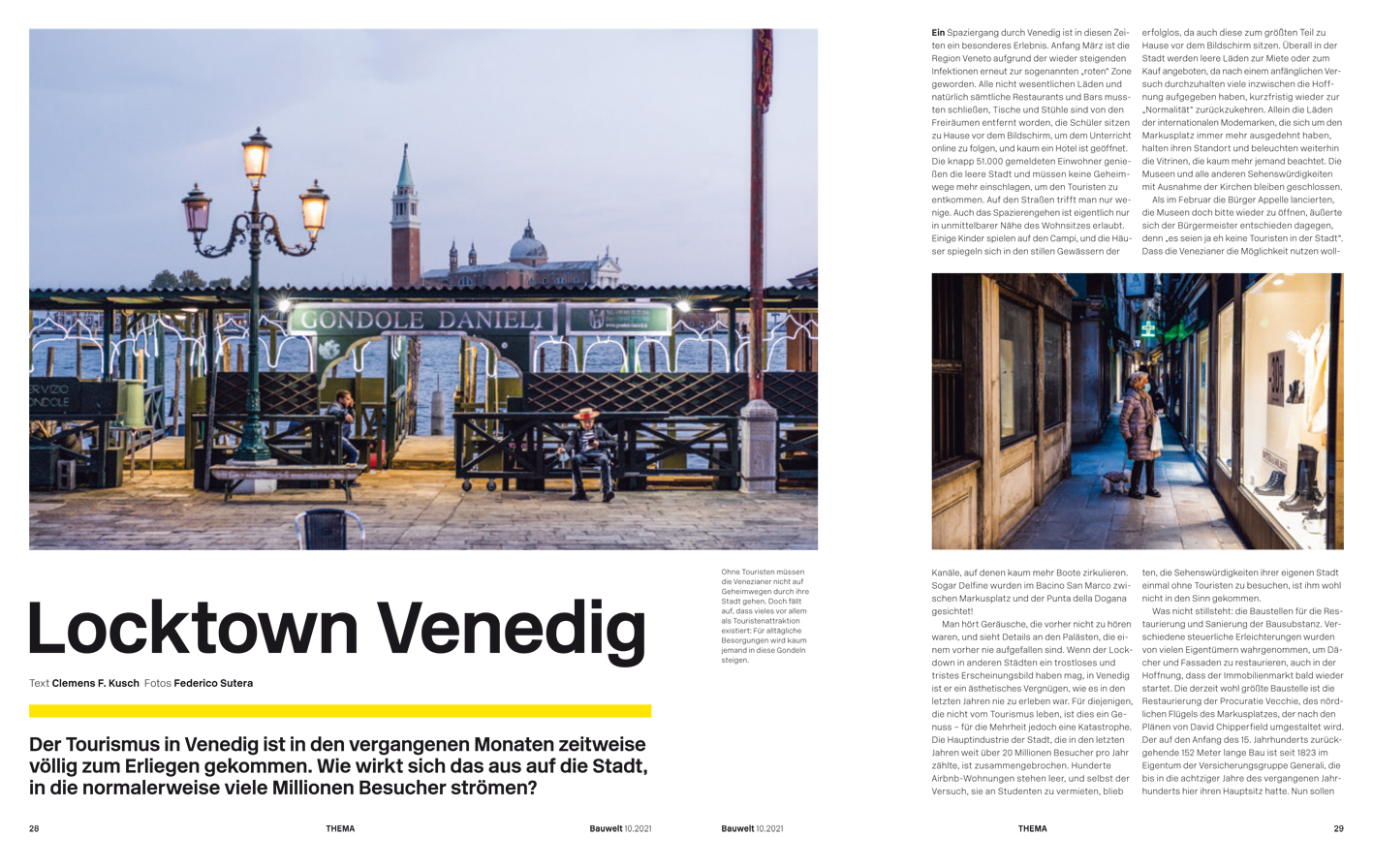 Lockdown Venedig